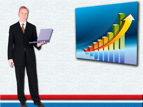 Бизнес и финансы. Шаблон для презентаций