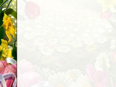 Принт-слайд цветочного шаблона