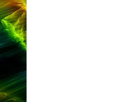 Зеленая феерия. Абстрактный шаблон. принт