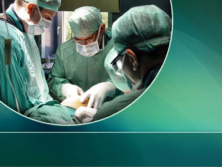 Хирургия. Шаблон для медицинских презентаций