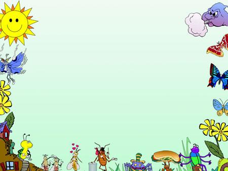 Шаблон PowerPoint для презентаций о насекомых