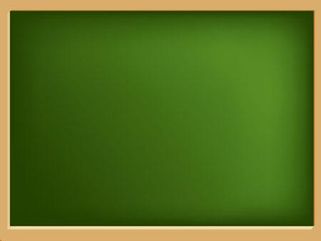 Школьная доска зеленого цвета