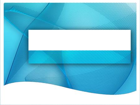Сине-белая абстракция. Шаблон для презентаций