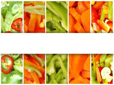 Вегетарианство. Бесплатный шаблон PowerPoint