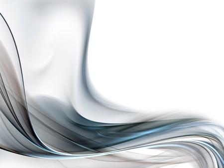 Серебристая дымка. Бесплатный абстрактный шаблон PowerPoint