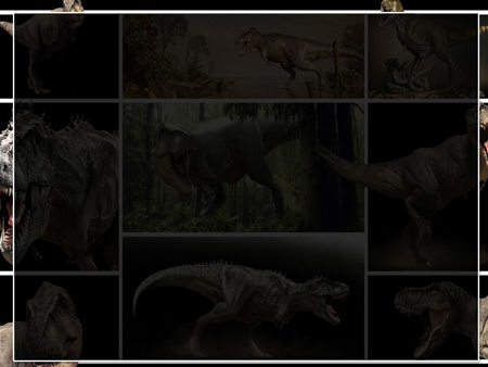 Динозавры. Шаблон PowerPoint