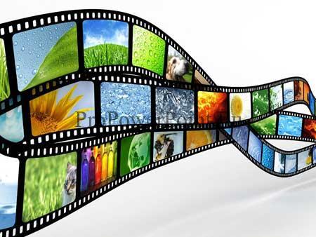Шаблон для презентаций о кино