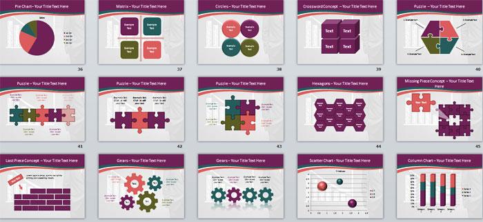 2 Слайды PowerPoint с инфографикой