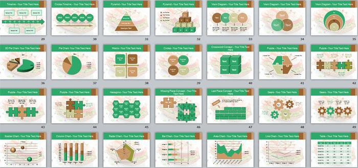2 Слайды с инфографикой и фото