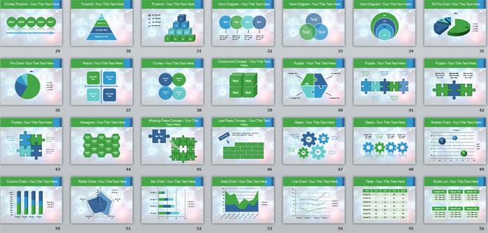 2 Слайды с инфографикой