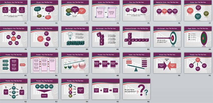 3 Слайды PowerPoint с инфографикой