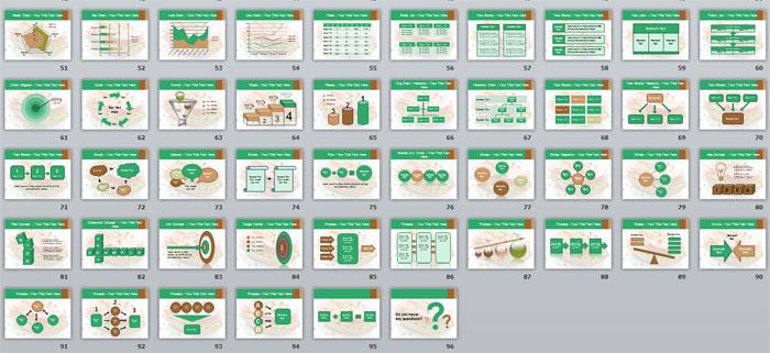 3 Слайды с инфографикой и фото