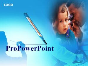 Медицинский анимированный шаблон PowerPoint
