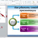 Как удалить слайд PowerPoint