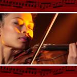 Скрипичный концерт. Бесплатный шаблон PowerPoint для презентаций по музыке