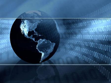 Информационные технологии. Шаблон PowerPoint