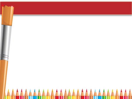 Внутренний слайд детского шаблона PowerPoint