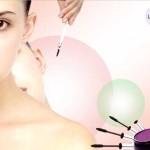 макияж. Шаблон для презентаций о женской красоте
