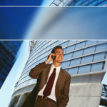 Телекоммуникации. Бизнес-шаблон для презентаций