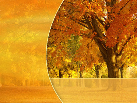 Картинки макеты для презентаций осень