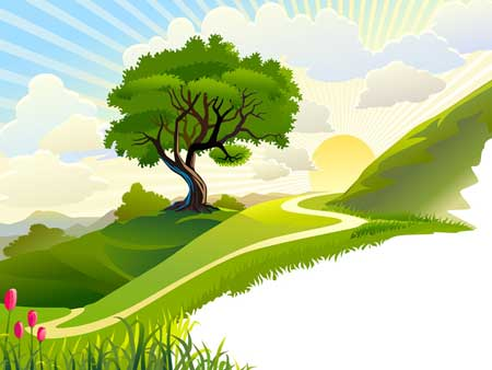 Картинки фоны для презентаций о природе