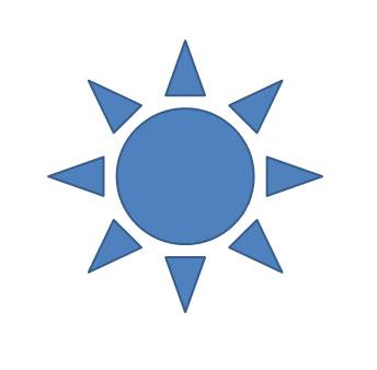 Синее солнце
